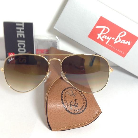 Ray-Ban Accessories   Rb3025 00151 5814 Aviator Gradient   Poshmark b6233fcb7293